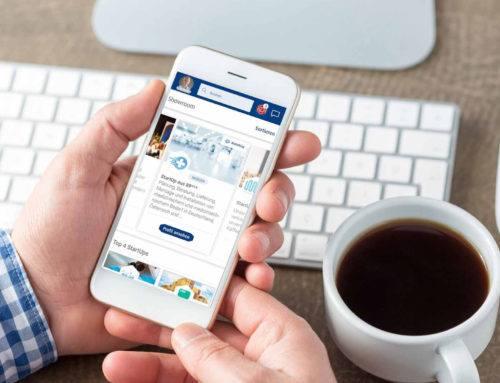 Die SalsUp App: jetzt auch im App Store