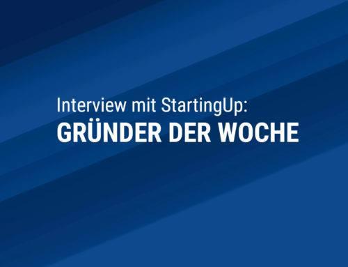 Gründer der Woche – im Interview mit StartingUp