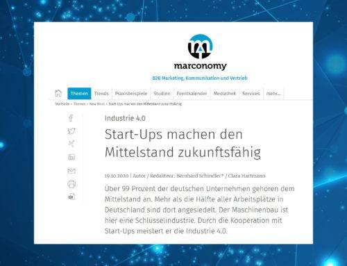 Marconomy: Start-Ups machen den Mittelstand zukunftsfähig